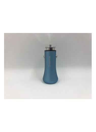 Basens Basens 36w Type-c + Usb Hızlı Araç Şarj Cihazı Mavi Mavi